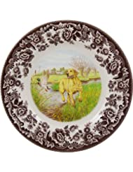 Тарелка Spode Woodland Hunting Dogs Yellow