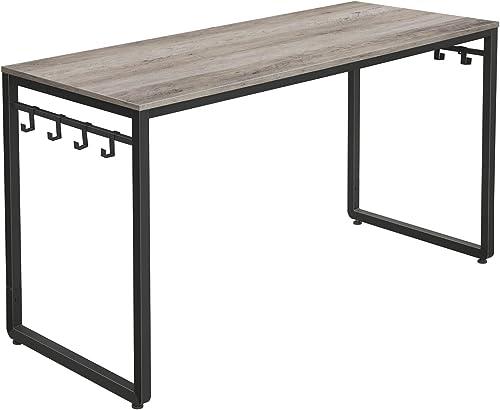 Best modern office desk: VASAGLE ALINRU Computer Desk