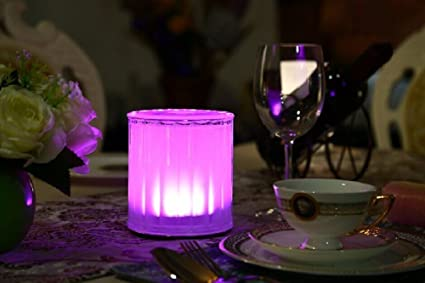 Amazoncom HEROLED TBRDCH Restaurant Table Lighting Wireless - Rechargeable restaurant table lights