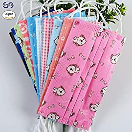 SENREAL Cute Disposable Non-Woven Masks