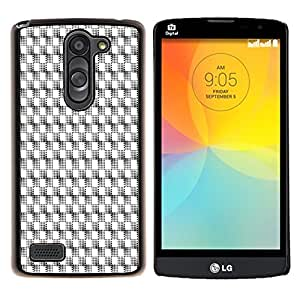 Dragon Case - FOR LG L Bello L Prime D337 - Order in complicated - Caja protectora de pl??stico duro de la cubierta Dise?¡Ào Slim Fit