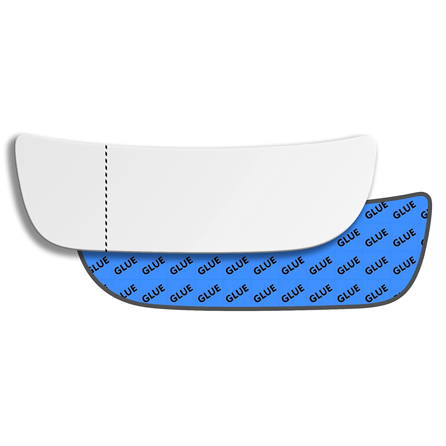 Hightecpl 761LAS Left Hand Passenger Near Side Wide Angle Door Wing Mirror Glass Replacement Channel Autoparts Limited