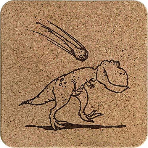 Pot Stand Azeeda Dinosaur /& Meteorite Square Cork Trivet TR00015123