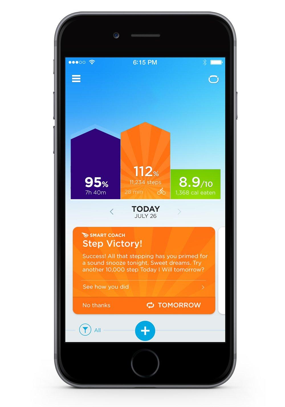 Jawbone Activity Tracker Turquoise Lightweight Image 2