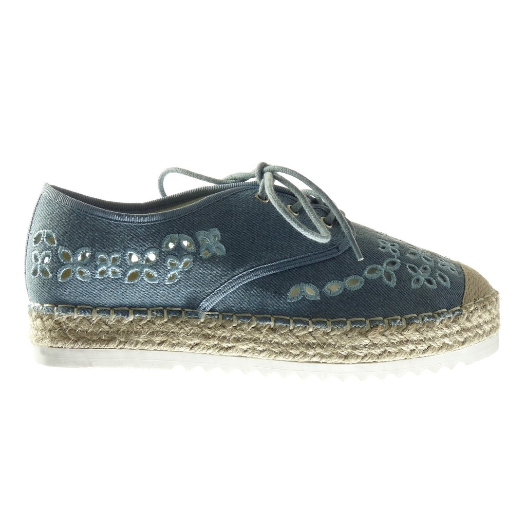 Angkorly Chaussure Mode Espadrille Derbies Plateforme Ouverte Femme