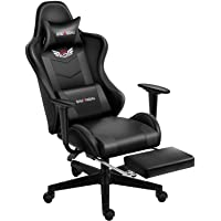 Shuanghu Gaming Chair Office Chair Ergonomic Computer Chair with Reclining Chair with Headrest and Lumbar Support Video…