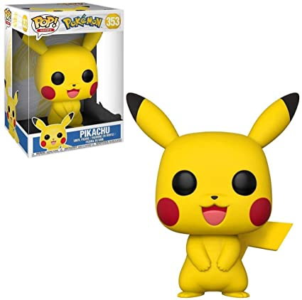 Amazon.com: Funko POP! Games: Pokemon - Pikachu [10 Inch] #353: Toys & Games