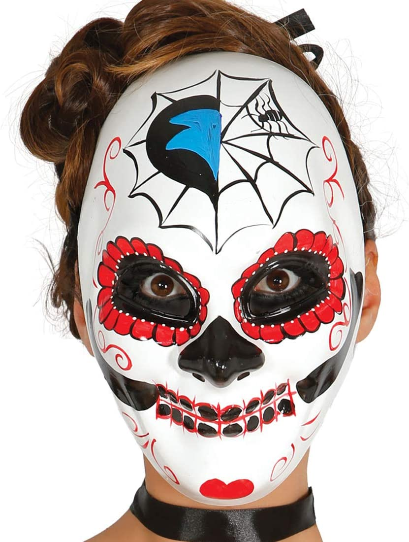 NET TOYS Elegante máscara Mexicana de Muerto para Adulto ...