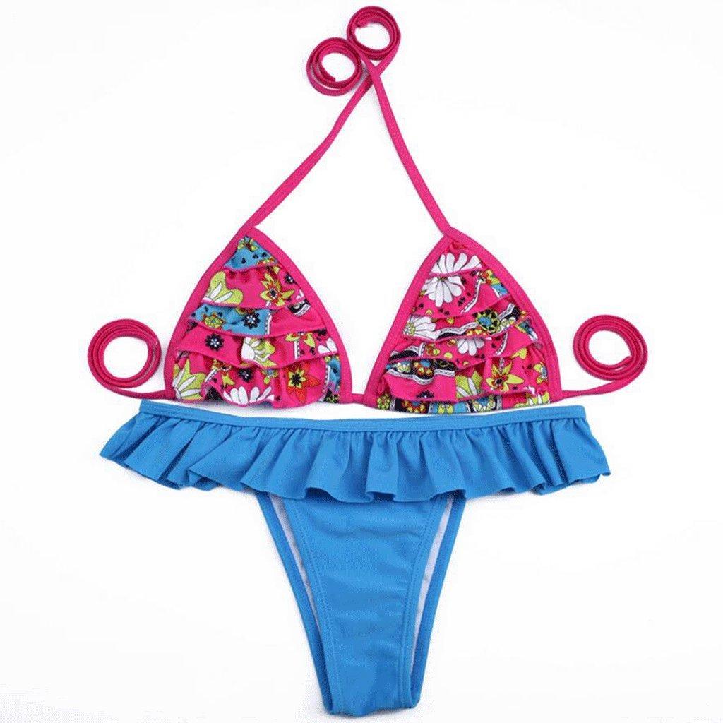 PRIDE S Mode Badeanzug Laminierte Spitze Split Bikini Spa Badeanzug Strand  Bademode: Amazon.de: Bekleidung
