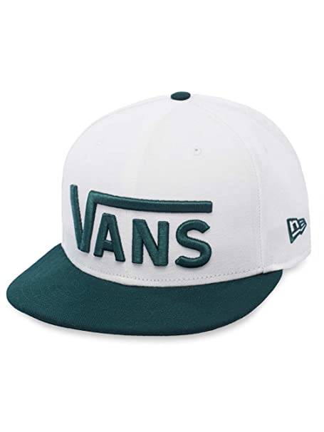 Gorra para hombre vans Drop V New Era - Gorra White/Pine 7 1/2 ...