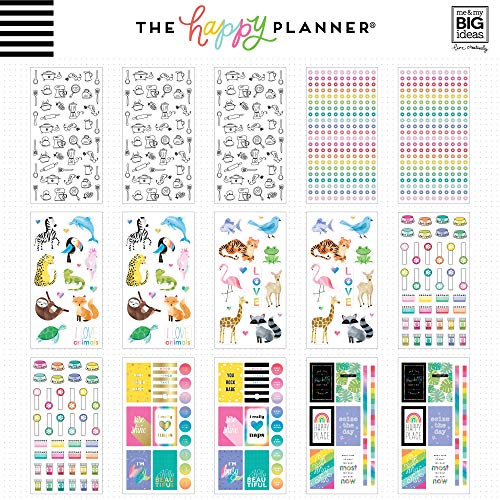 6 Sheets me /& my BIG ideas Create 365 The Happy Planner Brights To Do Stickers