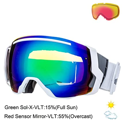 Amazon.com: Smith Optics I/O7 Vaporator Series Snocross ...