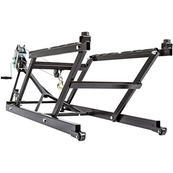 Extreme Max PRO SNOWMOBILE LIFT STAND Extreme Max 5800.1051 Wheel Kit Bundle Snowmobile Lift