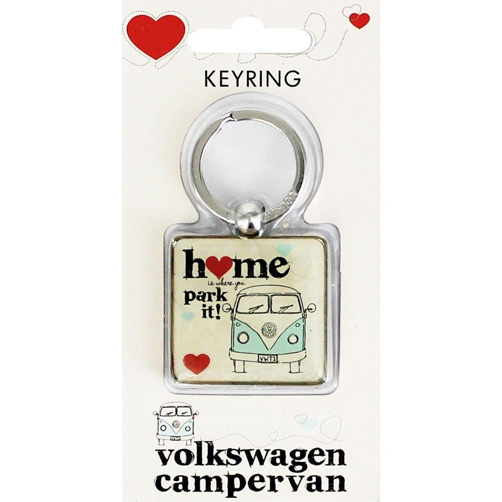 Ufficiale VW Camper casa /è dove si parcheggia E Portachiavi Home is Where You Park it