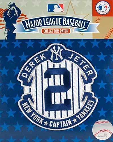 (2014 Derek Jeter Retirement Final Season New York Yankees Jersey Patch (The Captain))