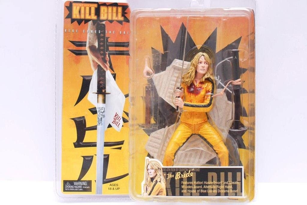 NECA Kill Bill 7 Inch Action Figure The Bride by Reel Toys by Reel ...