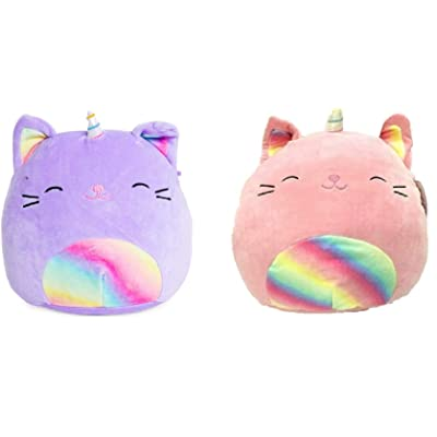 "Squishmallow Kellytoy 2020 Set of 2 Mini 5"" Caticorn Collection Plush Doll: Home & Kitchen"