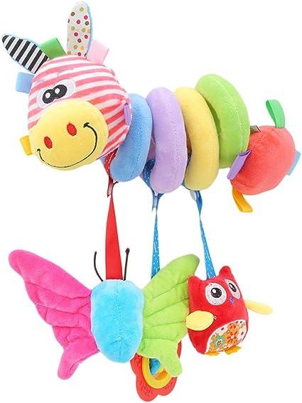 Lalang Baby Crib Pram Spiral RattlesToys Stroller Hanging