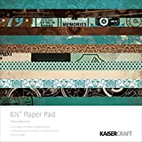 Kaisercraft Paper Pad 6.5x6.5 40/Pkg-Time Machine