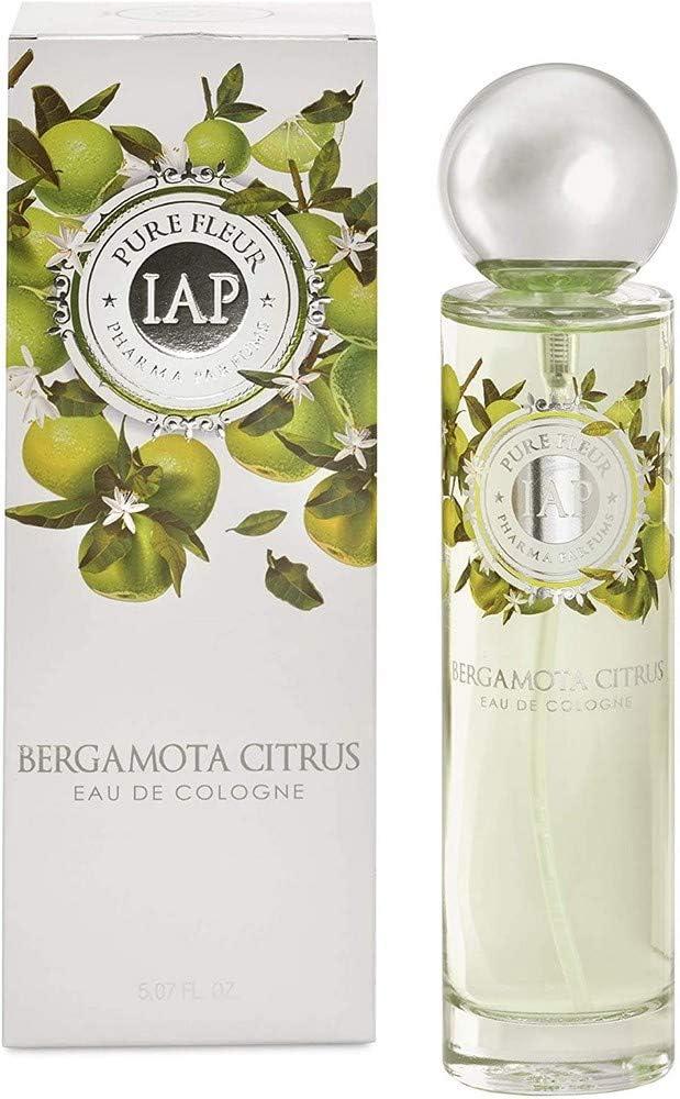 iap PHARMA PARFUMS Pure Fleure Bergamota Citrus Eau de Toilette con vaporizador para Mujer - 150 ml
