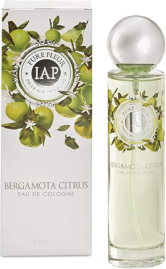 iap PHARMA PARFUMS Pure Fleure Bergamota Citrus - Eau de Toilette con vaporizador para Mujer - 150 ml: Amazon.es: Belleza