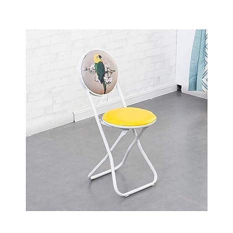 Amazon.com: MLX Silla plegable, taburete trasero, silla ...