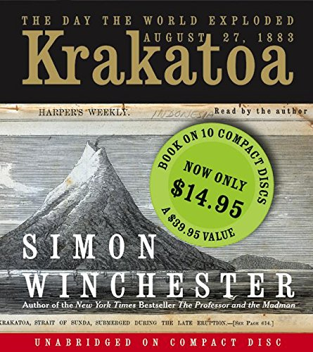 Krakatoa CD SP: The Day the World Exploded: August 27, 1883 by HarperAudio
