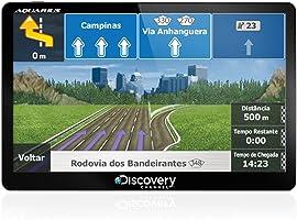 GPS Automotivo Discovery Tela de 5 Slim Touch Screen com TV Digital MTC2132