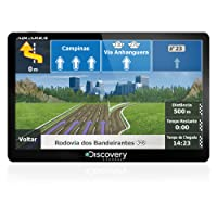 GPS Automotivo Discovery Tela de 5 Slim Touch Screen com TV Digital MTC2132