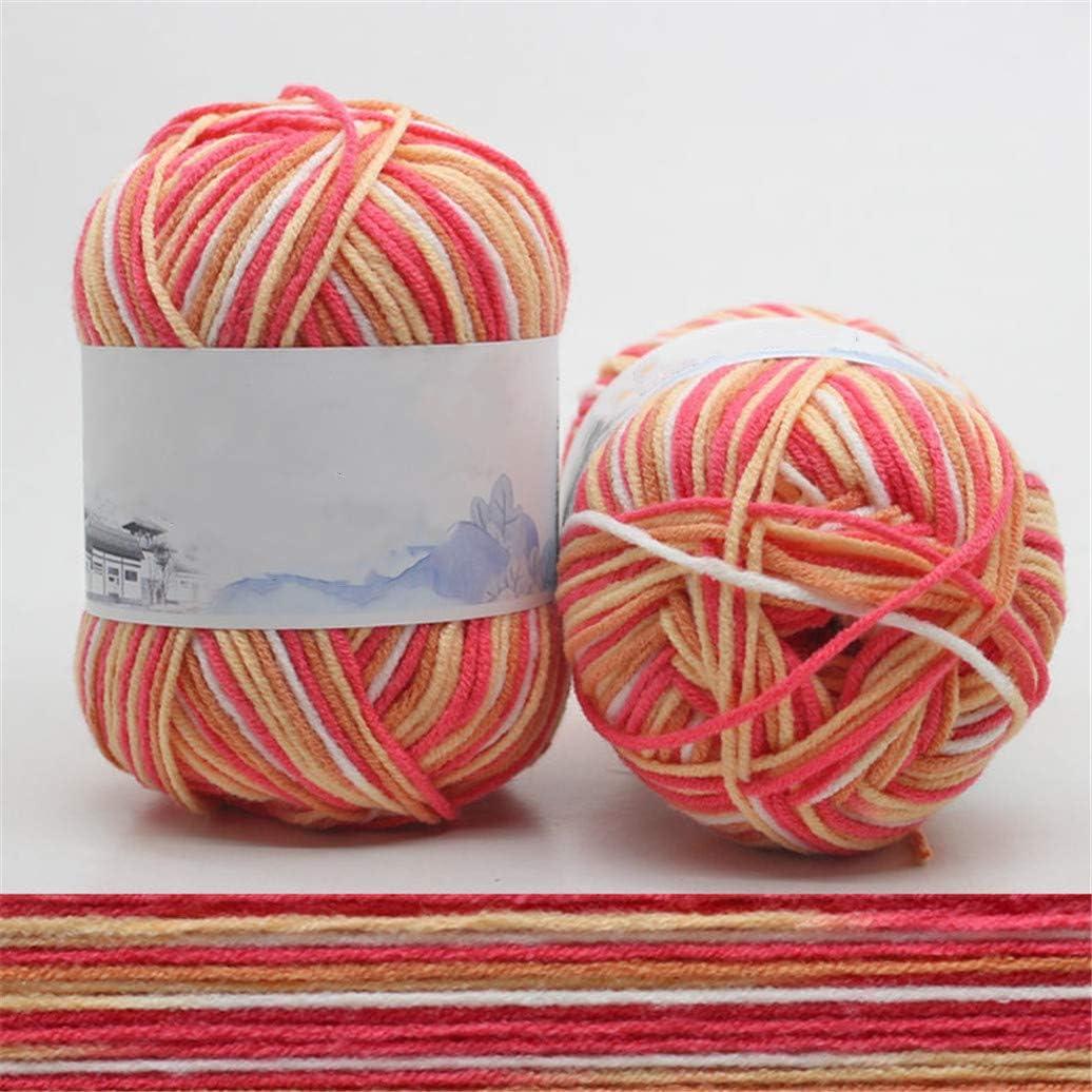 Shangwelluk - Ovillos de Lana de algodón para Tejer y Ganchillo ...
