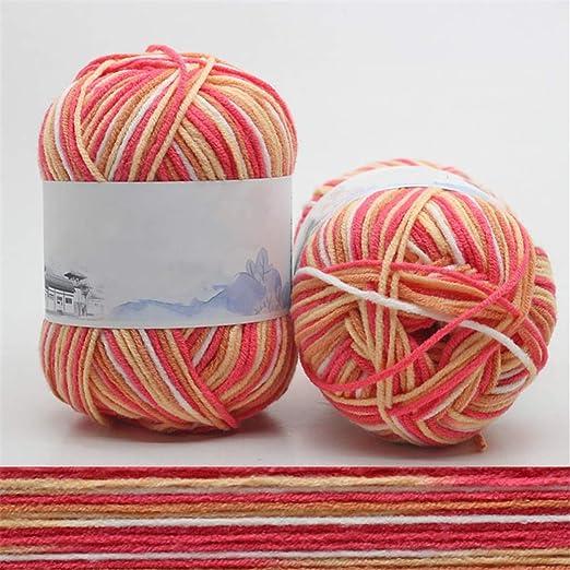 Shangwelluk - Juego de 7 ovillos de lana para tejer a mano de ...
