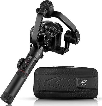 ZHIYUN Crane 2 3-Eje Handheld Estabilizador Gimbal con Pantalla ...