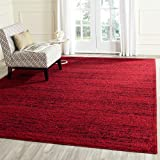 Cheap Safavieh Adirondack Collection ADR117F Red and Black Contemporary Area Rug (9′ x 12′)