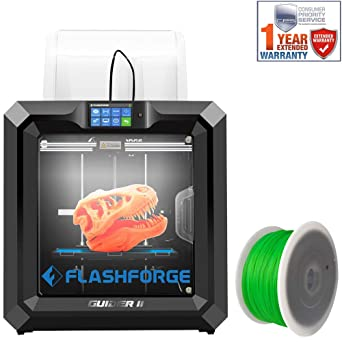 Impresora 3D FlashForge Guider II (3D-FFG-GUIDER2) con filamento ...