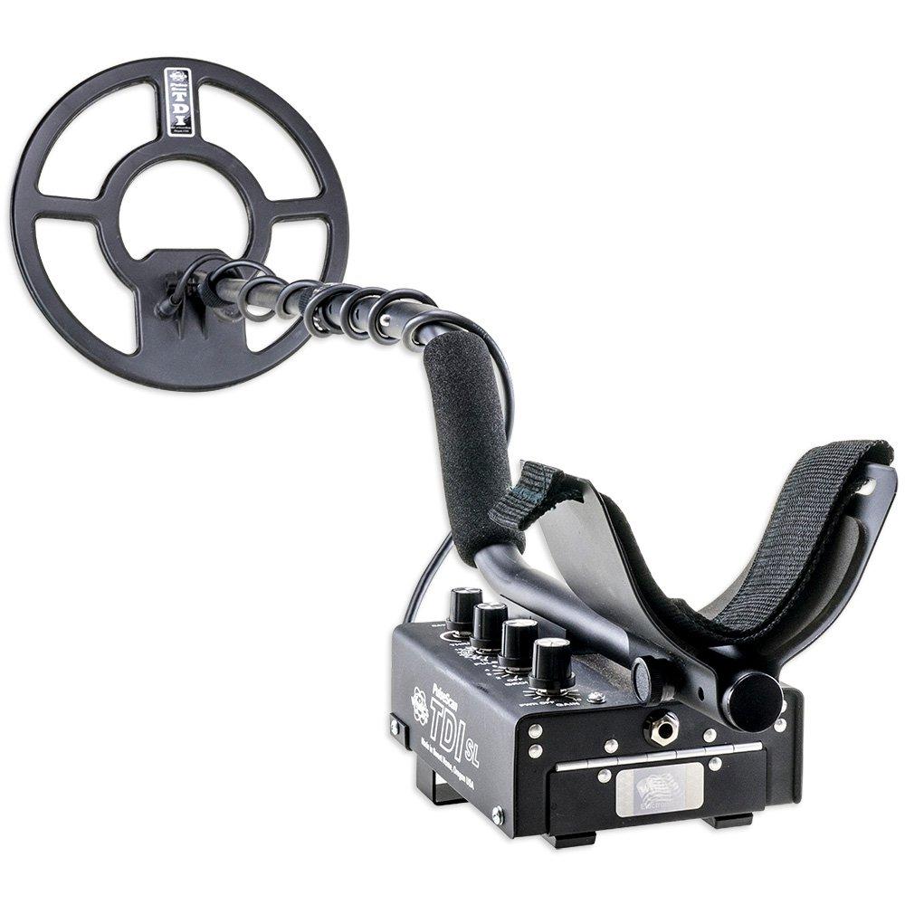 Los blancos TDI SL Pi detector de reliquia de excavadoras especial con digmaster y bolsa de utilidad: Amazon.es: Jardín