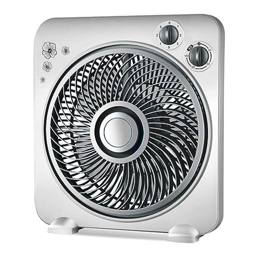 JJSFJH Ventilador de escritorio con temporizador, viento potente ...