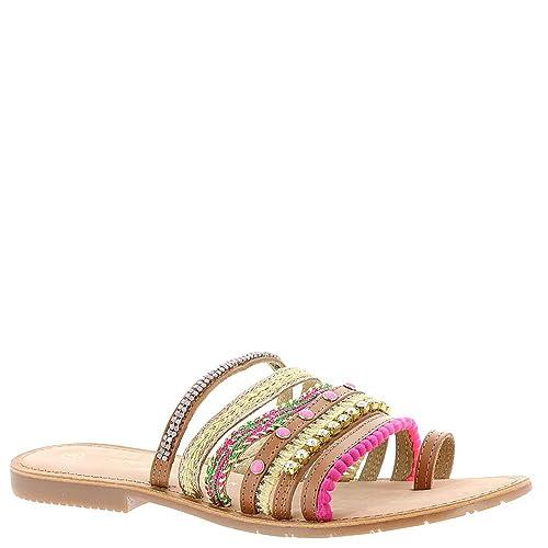 Chinese Laundry Women's Palma Mixed Mater Slide Sandal