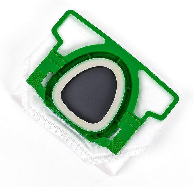 Bolsa de aspiradora adecuada para Vorwerk Kobold 200 y 150, juego de 2 paquetes de 6 unidades: Amazon.es: Hogar