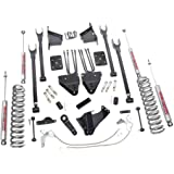 Rough Country - 592.20 - 8-inch 4-Link Suspension Lift Kit w/ Premium N2.0 Shocks for Ford: 08-10 F250 Super Duty 4WD, 08-10 F350 Super Duty 4WD