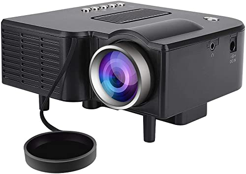 Opinión sobre Bewinner Mini LED Proyector 1080P Proyector LCD Portátil Full HD 400 ANSI Lúmenes Proyector con Control Remoto Soporte PC Portátil HDMI/VGA/AV/USB/SD Entrada para Cine en Casa(EU)