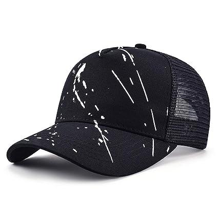 b4e442d0b47ee Vinteen Sombrero de Cap Hombre Malla de Verano Sombrero de Graffiti Gorra  de Béisbol Ocio Femenino