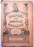 img - for Harpers New Monthly Magazine, August, 1891 (Twain first publication) book / textbook / text book