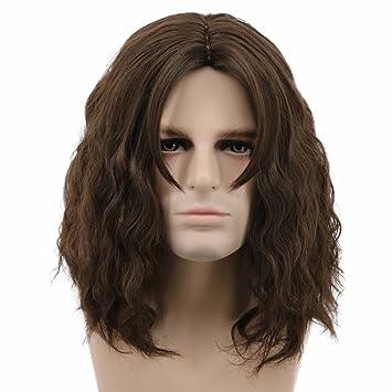Amazon.com: Karlery - Peluca de pelo corto rizado, para ...