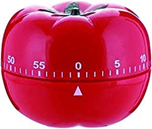 Jayron JR-WG017 Kitchen cooking timer tomato cartoon mechanical countdown hour meter