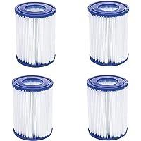 Filtro de piscina HHDL tipo 2, apto para Bestway 58094 - Cartucho de filtro de piscina, reemplazo de cartucho de filtro…
