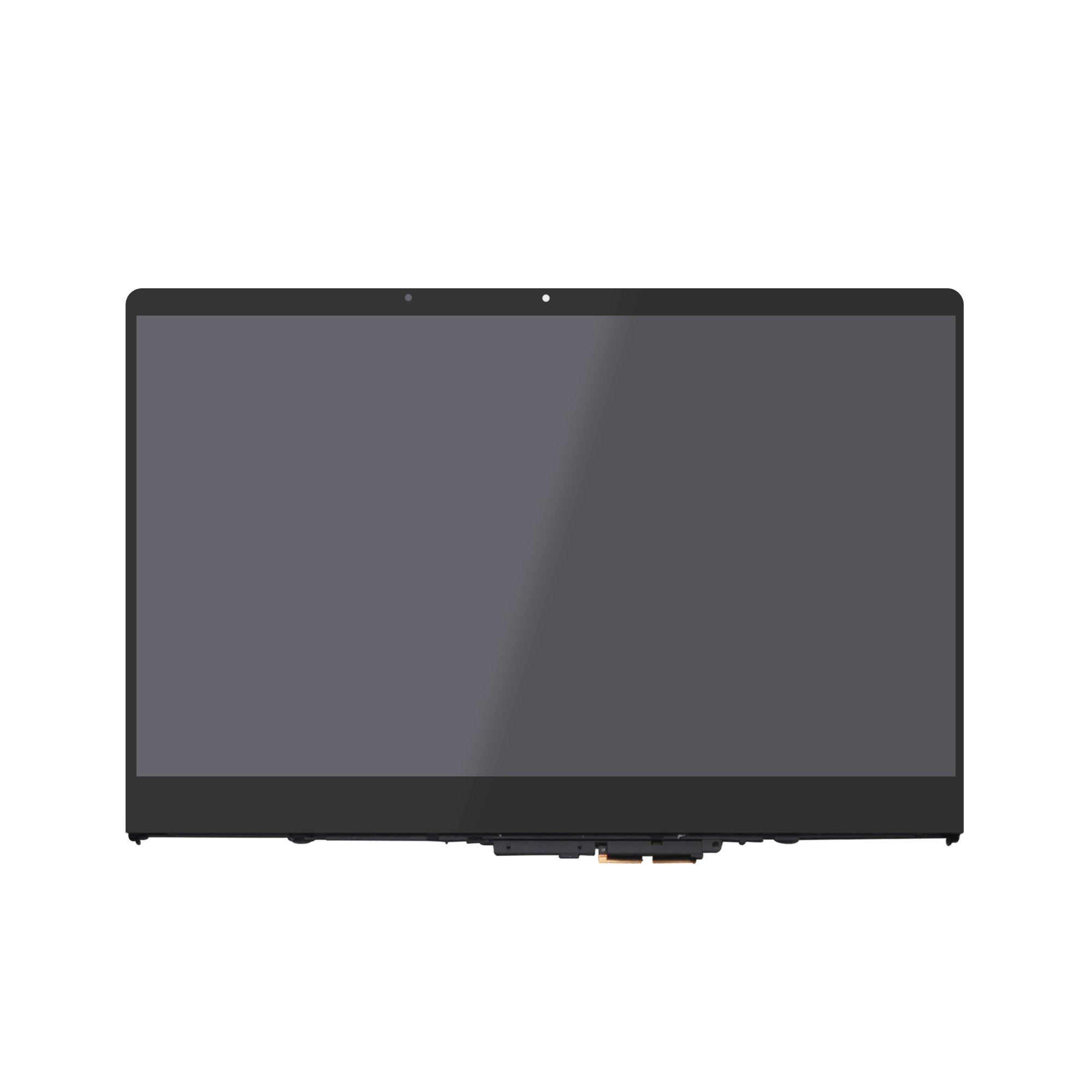 LCDOLED Compatible 15.6 inches FHD IPS LCD Display Touch Screen Digitizer Assembly with Bezel Replacement for Lenovo Yoga 710 710-15ISK 710-15IKB 80U0 80V5 5TD50K85364 5D10K81093 (1920x1080 N156HCA) by LCDOLED (Image #1)