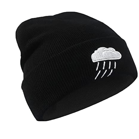 BlueSterCool Cappello Inverno per Uomo e Donna Berretto in Cotone Nera bad4314a361e