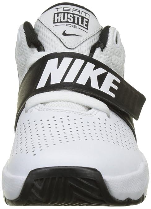 the latest 33582 3bcd0 Nike Team Hustle D 8 (PS), Chaussures de Basketball garçon  Amazon.fr   Chaussures et Sacs