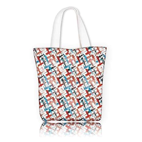 Amazon com: Canvas Tote Bag -W15 x H14 x D4 7 INCH/Design