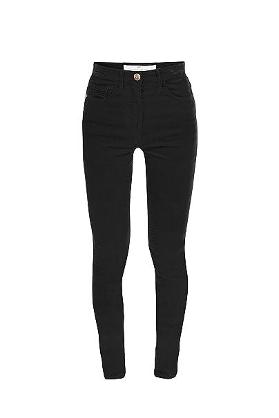 Elisabetta Franchi Jeans Skinny Donna MOD. PJ06I86E2 Nero 30  Amazon ... 5558ec4c723